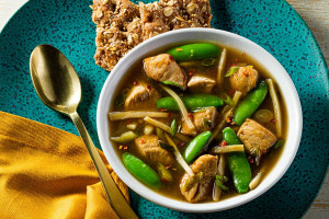 Asian Chicken and Vegetable Stew