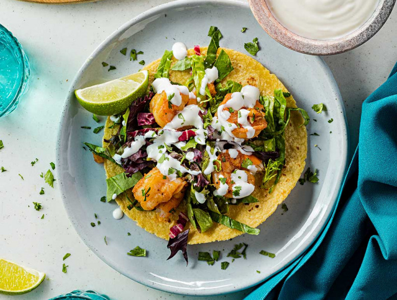 Tex-Mex Shrimp Tacos