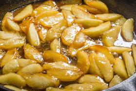 肉桂苹果炒