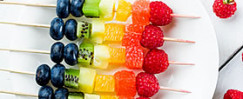 Kid-Friendly Rainbow Fruit Platter