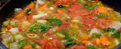 Greek Bean and Vegetable Soup (Fassoulada)