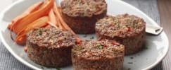 Mushroom and Walnut Meat Loaf