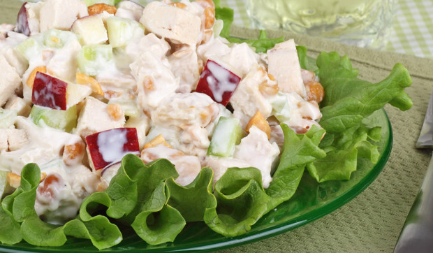 Creamy Chicken Apple Salad