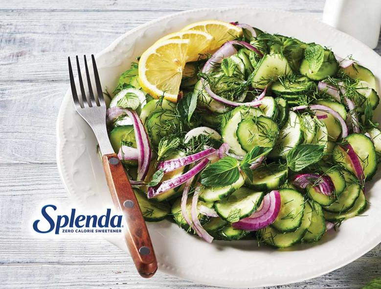 Cucumber and Onion Salad