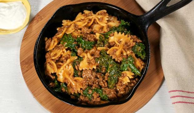 Vegetarian Kale Pasta