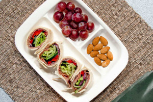 Beef Wrap Lunch Box