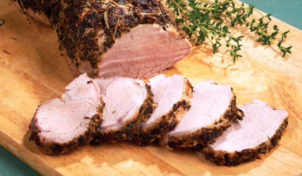 Herb-Rubbed Pork Tenderloin