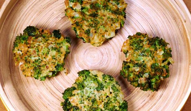 Broccoli Onion Latkes