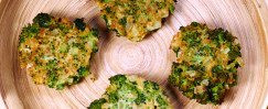 Broccoli Onion Latkes