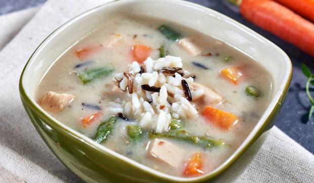 Chicken Wild Rice Asparagus Soup
