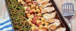 Sheet Pan Chicken, Green Beans & Potatoes