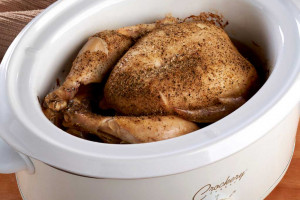 Slow-Cooked Whole Chicken