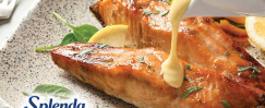Baked Salmon with Ginger-Citrus Sauce