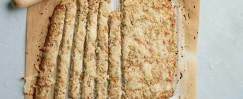 Low-Carb Cauliflower Breadsticks