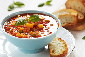 Crock Pot Veggie Soup