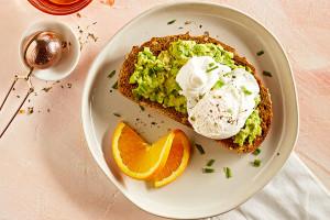 Egg and Avocado Toasts