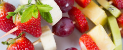 Fruit and Cheese Kababs