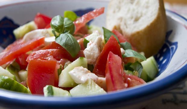 Garden Caprese Salad