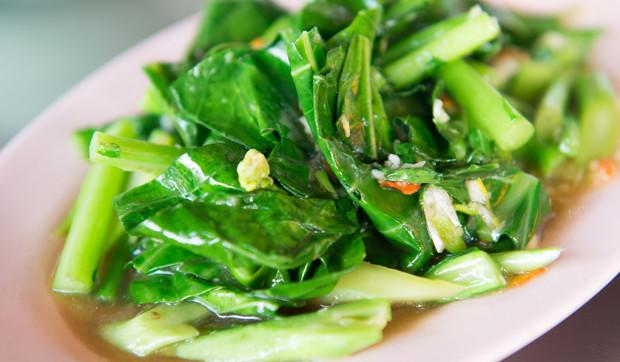 Garlic Sautéed Spinach and Kale