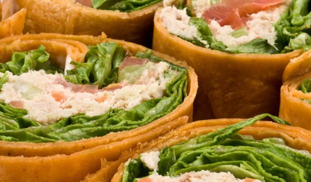Gluten-Free Chicken Salad Wrap
