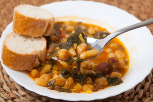 Greek Bean and Vegetable Soup