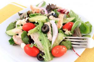 希腊鸡肉沙拉