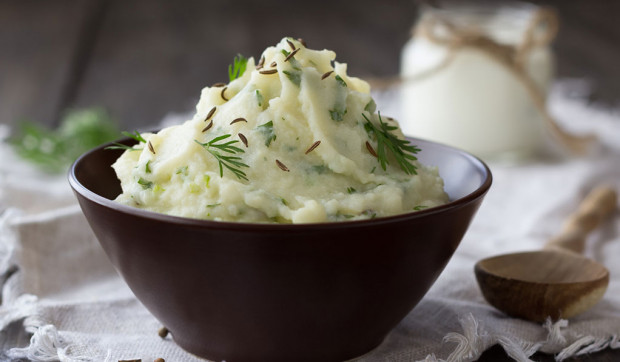 Herb and Olive Oil Mashed Potatoes