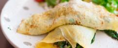 Low-Carb Artichoke Chicken Wraps