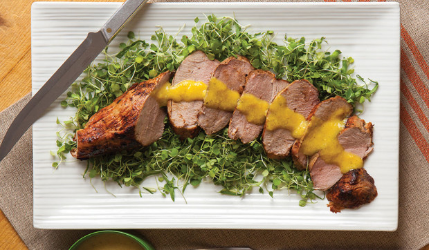 Mojo-Marinated Pork Tenderloin (Pernil)