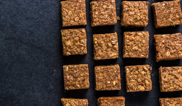 Pumpkin Apple Protein Bars