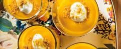 Pumpkin Pudding Parfait with Gingersnaps