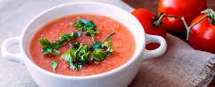 Quick Herb-Tomato Soup