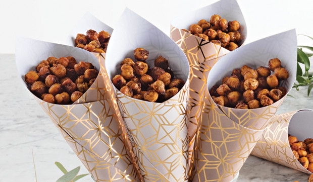 Roasted and Spiced Chickpeas