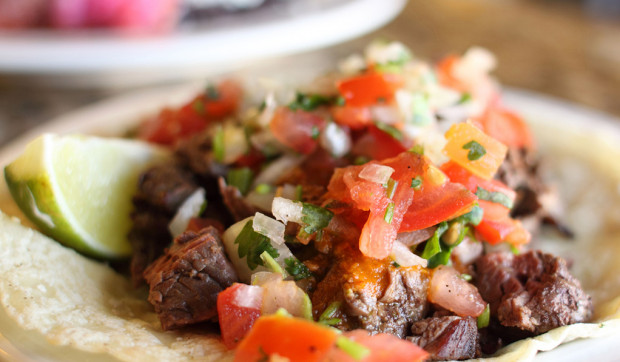 Slow-Cooker Flank Steak Tacos