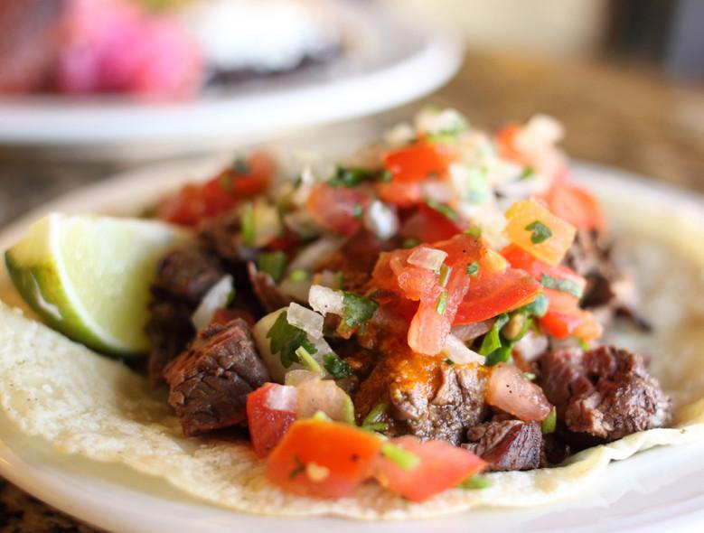 Slow-Cooker Flank Steak Tacos