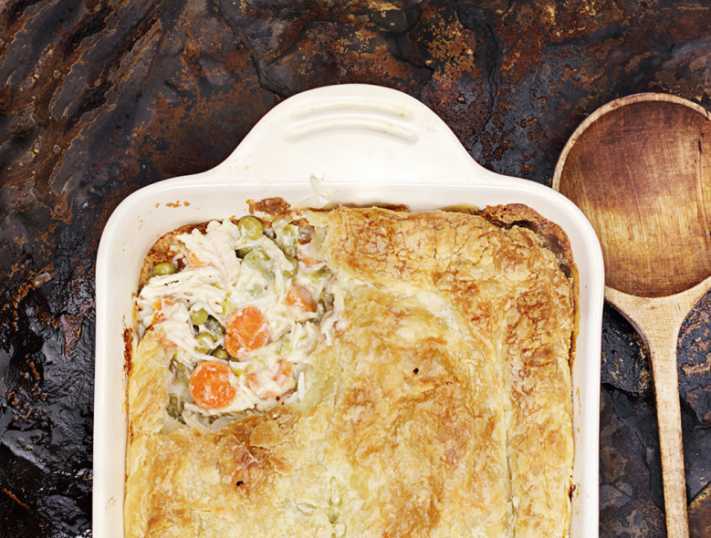Whole Grain Chicken Pot Pie