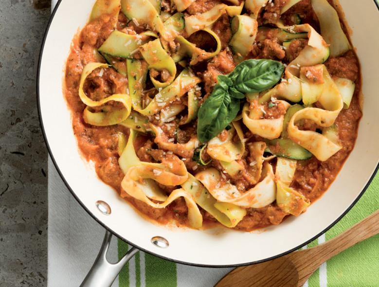 Zucchini Lasagna Skillet