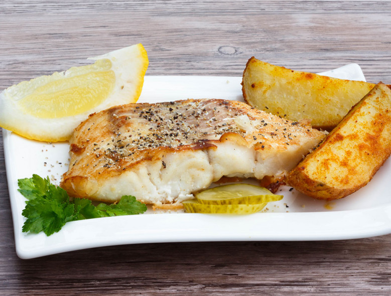 Baked Fish Fillets With Thyme Dijon Topping