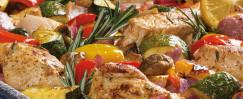 Sheet Pan Roasted Turkey and Veggies