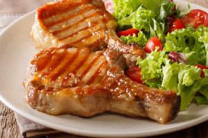 Apple Mustard Pork Chops