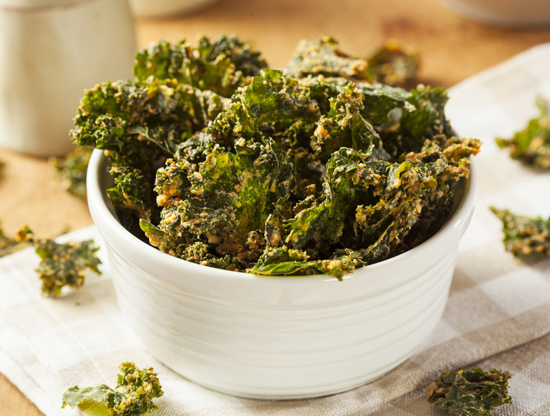 Chinese Five-Spice Kale Chips