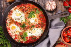 North African Shakshuka (Love Shack-shuka)