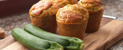 Zucchini and Date Muffins
