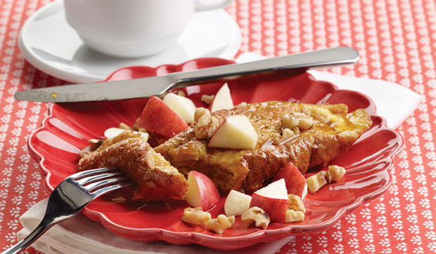 Apple-Walnut French Toast