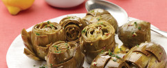 Artichokes with Garlic and Oil (Carciofi All'Aglio E Olio)