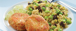 Brown Rice And Edamame Salad
