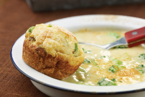 Cheddar Cheese and Broccoli Soup