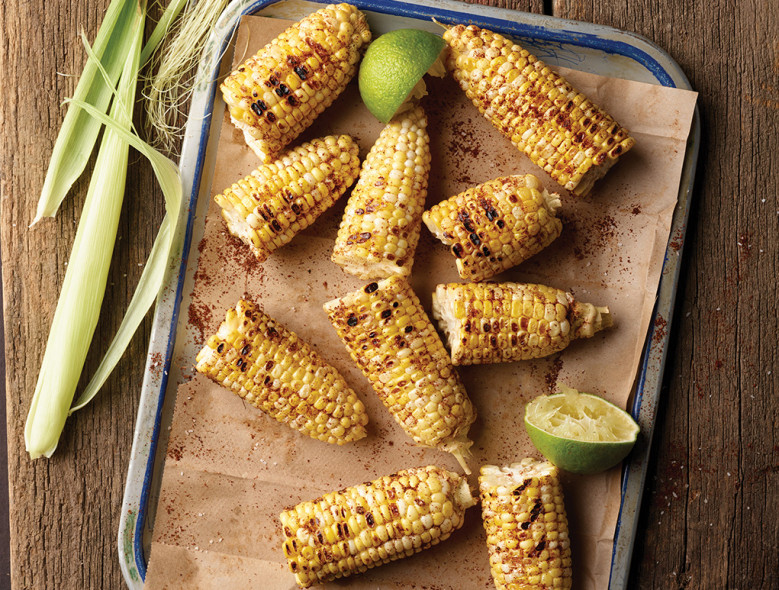 Corn Bhutta (Roasted Corn on the Cob)