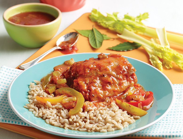 Creole Chicken And Peppers