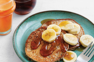 Double-Duty Banana Pancakes